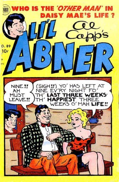 Cover for Al Capp's Li'l Abner (Toby, 1949 series) #89