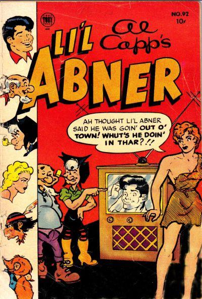 Cover for Al Capp's Li'l Abner (Toby, 1949 series) #92