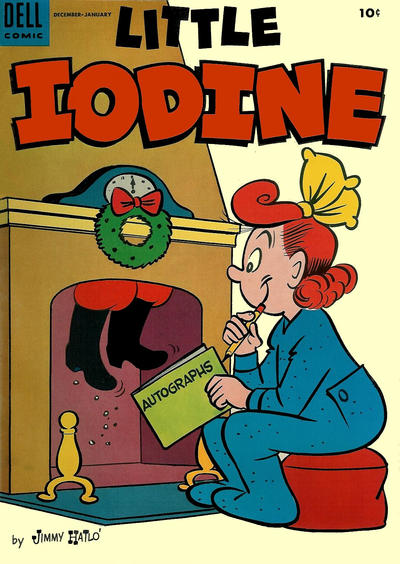 Cover for Little Iodine (Dell, 1950 series) #27