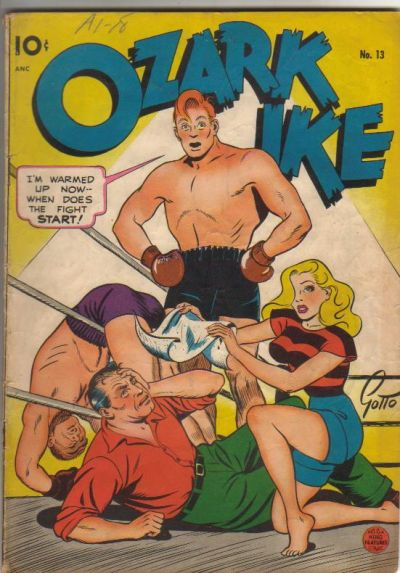 Cover for Ozark Ike (Pines, 1948 series) #13