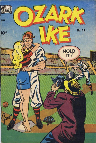 Cover for Ozark Ike (Pines, 1948 series) #15