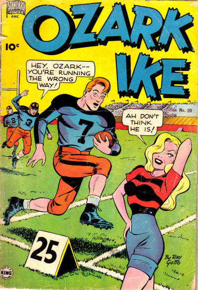 Cover for Ozark Ike (Pines, 1948 series) #20