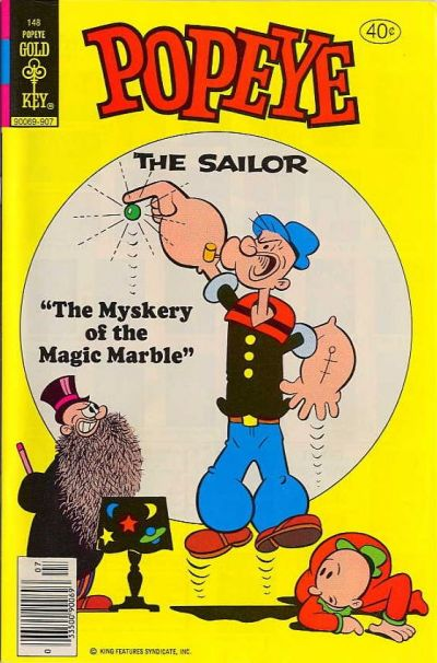 Cover for Popeye the Sailor (Western, 1978 series) #148 [Whitman]