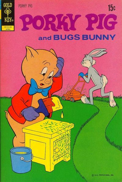 Cover for Porky Pig (Western, 1965 series) #41 [Gold Key]