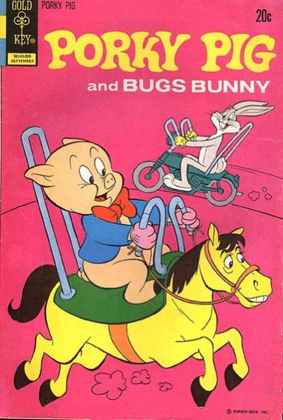 Cover for Porky Pig (Western, 1965 series) #44 [Gold Key]