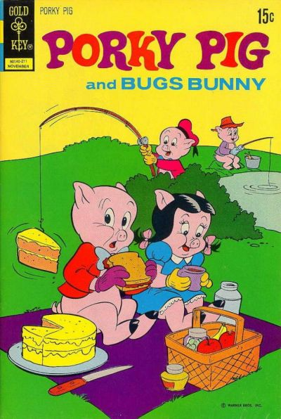 Cover for Porky Pig (Western, 1965 series) #45