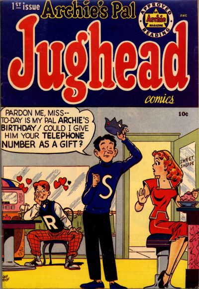 Cover for Archie's Pal Jughead (Archie, 1949 series) #1