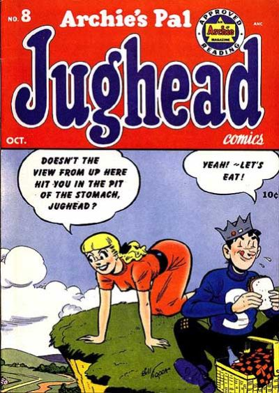 Cover for Archie's Pal Jughead (Archie, 1949 series) #8