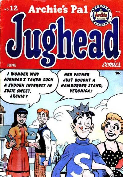 Cover for Archie's Pal Jughead (Archie, 1949 series) #12