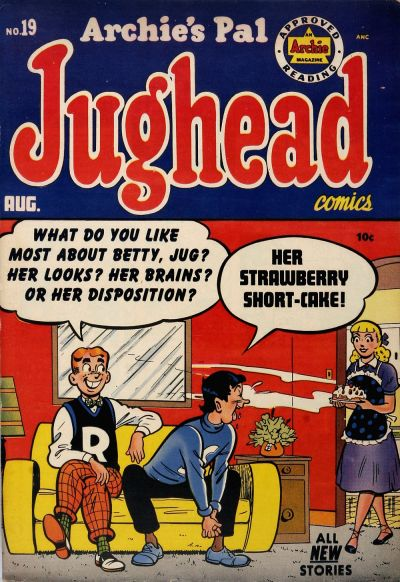 Cover for Archie's Pal Jughead (Archie, 1949 series) #19