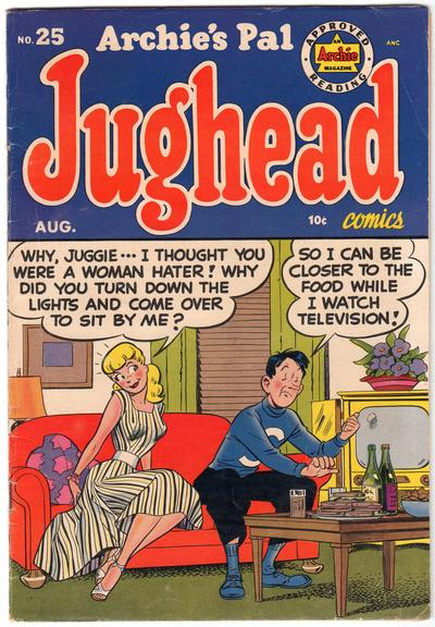 Cover for Archie's Pal Jughead (Archie, 1949 series) #25