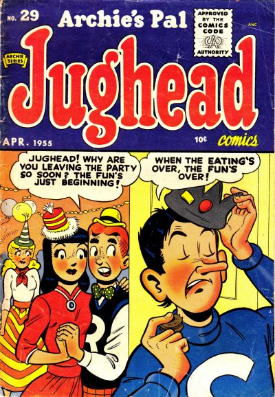 Cover for Archie's Pal Jughead (Archie, 1949 series) #29