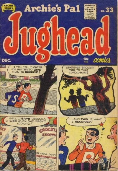 Cover for Archie's Pal Jughead (Archie, 1949 series) #33