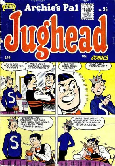 Cover for Archie's Pal Jughead (Archie, 1949 series) #35