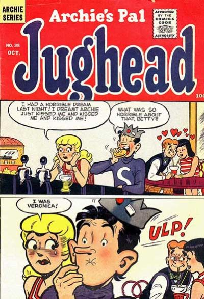 Cover for Archie's Pal Jughead (Archie, 1949 series) #38