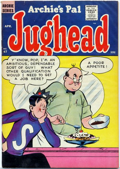 Cover for Archie's Pal Jughead (Archie, 1949 series) #47