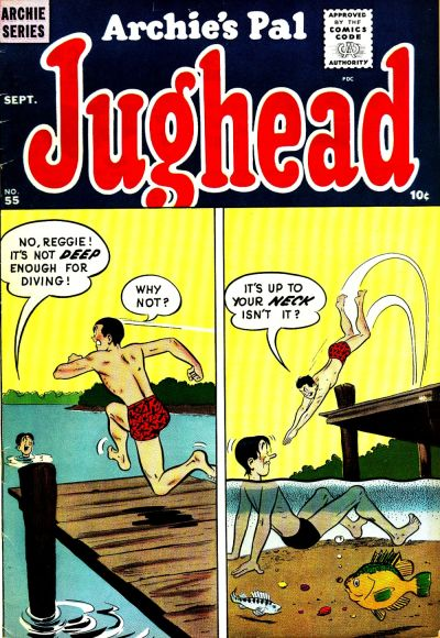 Cover for Archie's Pal Jughead (Archie, 1949 series) #55