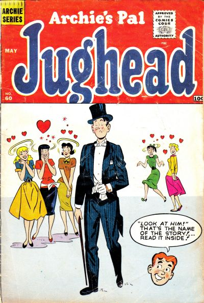 Cover for Archie's Pal Jughead (Archie, 1949 series) #60