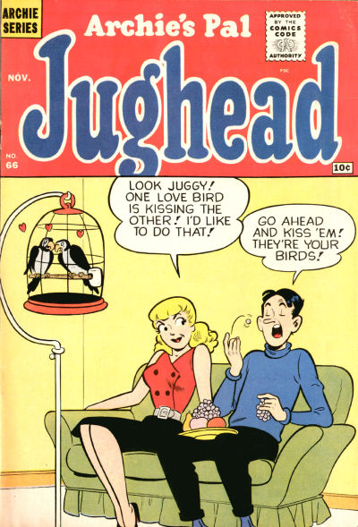 Cover for Archie's Pal Jughead (Archie, 1949 series) #66