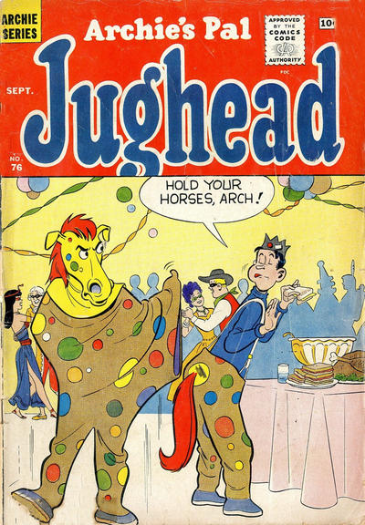 Cover for Archie's Pal Jughead (Archie, 1949 series) #76
