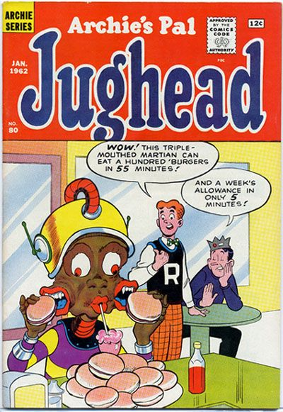 Cover for Archie's Pal Jughead (Archie, 1949 series) #80