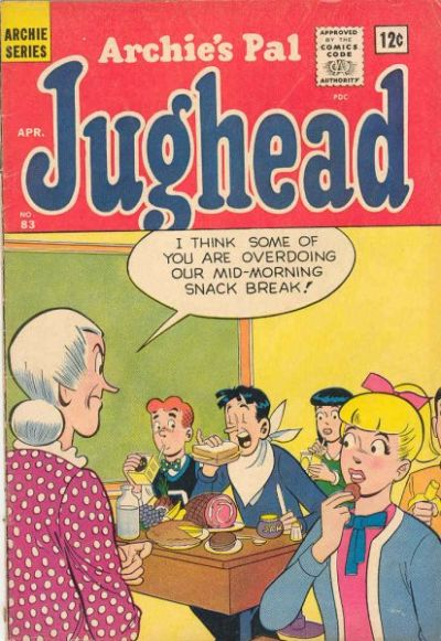 Cover for Archie's Pal Jughead (Archie, 1949 series) #83