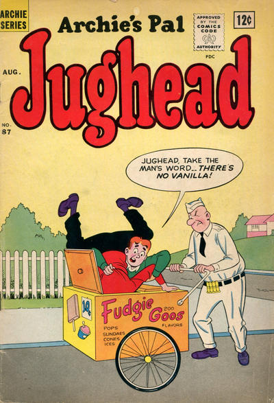 Cover for Archie's Pal Jughead (Archie, 1949 series) #87