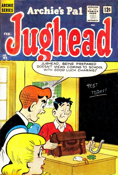 Cover for Archie's Pal Jughead (Archie, 1949 series) #93