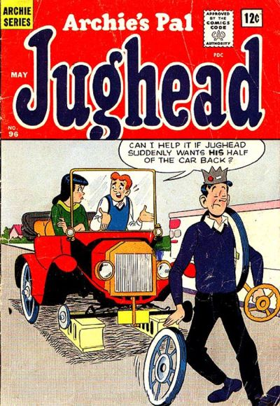 Cover for Archie's Pal Jughead (Archie, 1949 series) #96
