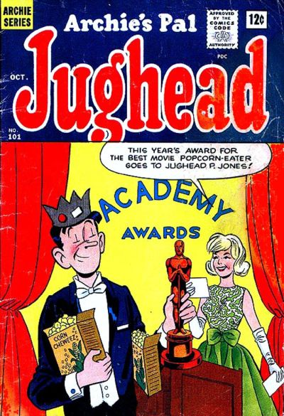 Cover for Archie's Pal Jughead (Archie, 1949 series) #101