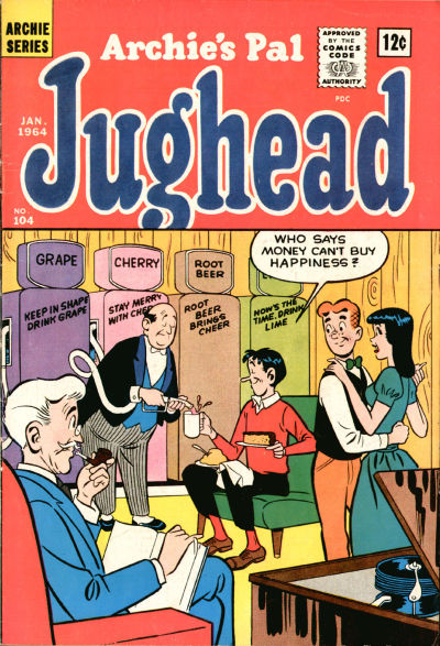 Cover for Archie's Pal Jughead (Archie, 1949 series) #104