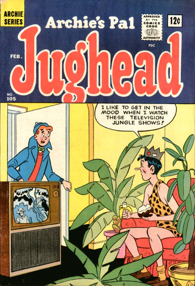 Cover for Archie's Pal Jughead (Archie, 1949 series) #105