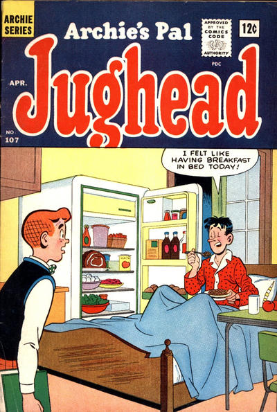 Cover for Archie's Pal Jughead (Archie, 1949 series) #107