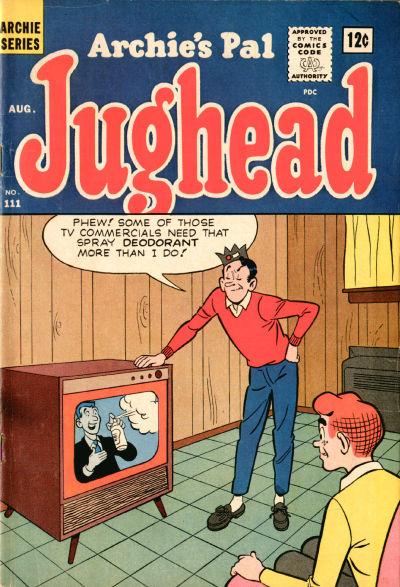 Cover for Archie's Pal Jughead (Archie, 1949 series) #111