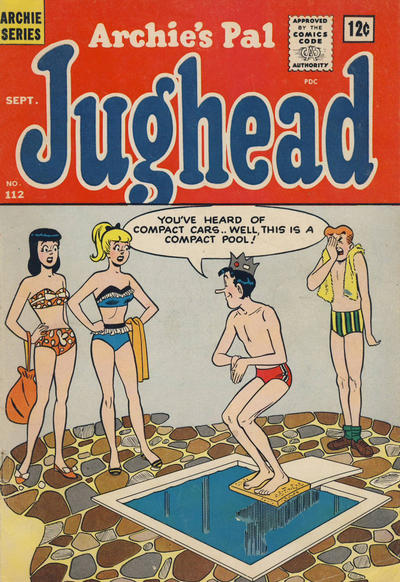 Cover for Archie's Pal Jughead (Archie, 1949 series) #112