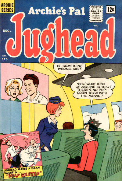 Cover for Archie's Pal Jughead (Archie, 1949 series) #115