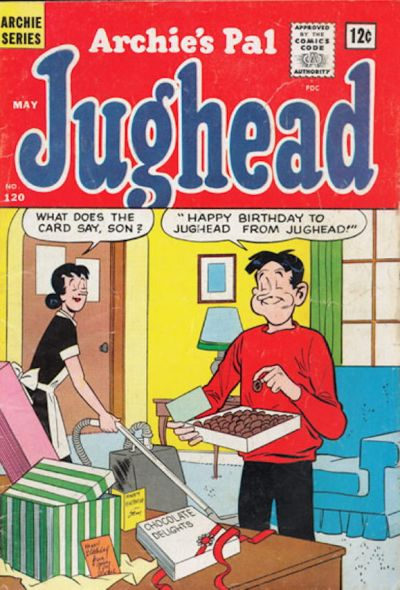 Cover for Archie's Pal Jughead (Archie, 1949 series) #120