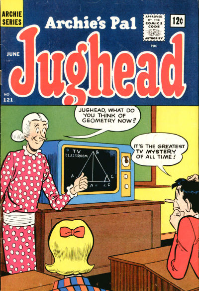 Cover for Archie's Pal Jughead (Archie, 1949 series) #121