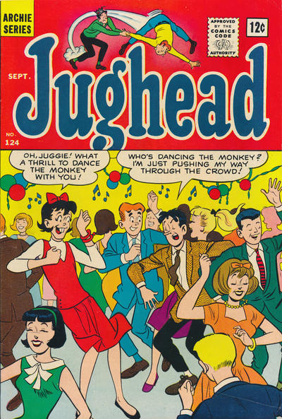 Cover for Archie's Pal Jughead (Archie, 1949 series) #124