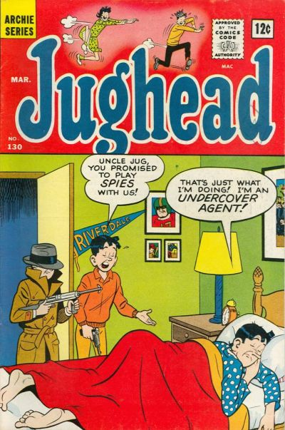 Cover for Jughead (Archie, 1965 series) #130