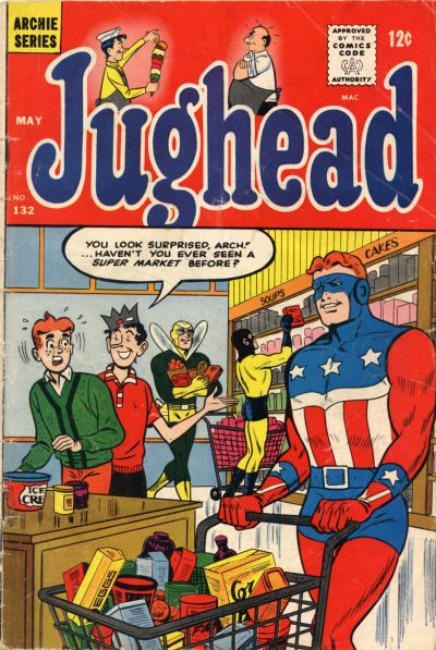 Cover for Jughead (Archie, 1965 series) #132