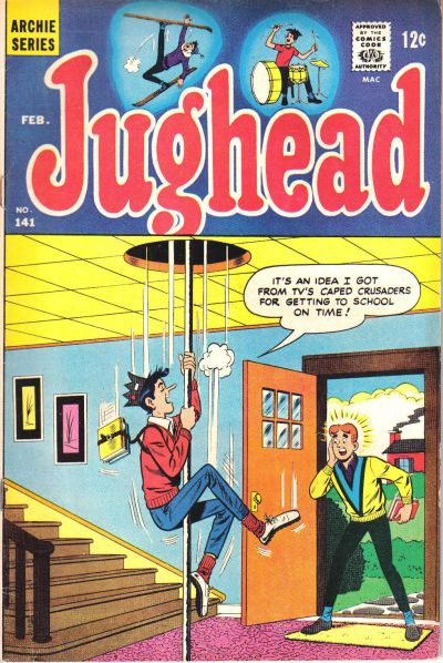 Cover for Jughead (Archie, 1965 series) #141