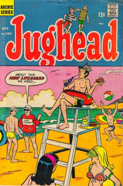 Cover for Jughead (Archie, 1965 series) #161