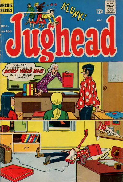 Cover for Jughead (Archie, 1965 series) #163