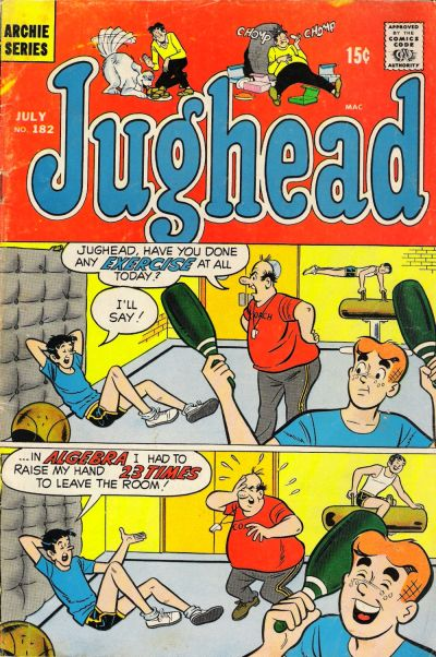 Cover for Jughead (Archie, 1965 series) #182