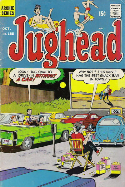Cover for Jughead (Archie, 1965 series) #185