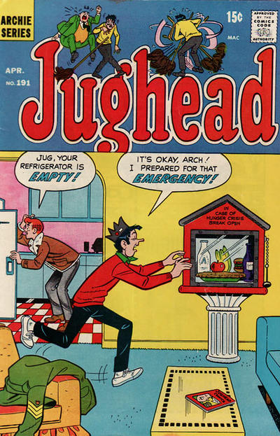 Cover for Jughead (Archie, 1965 series) #191