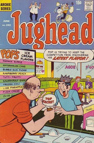 Cover for Jughead (Archie, 1965 series) #193