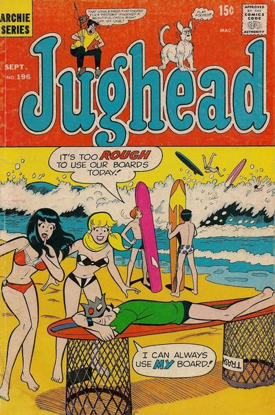 Cover for Jughead (Archie, 1965 series) #196