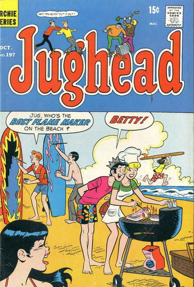 Cover for Jughead (Archie, 1965 series) #197